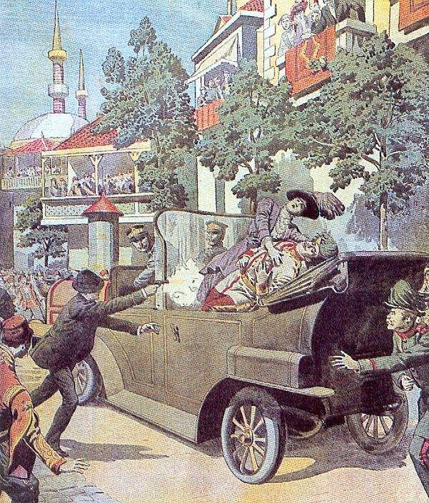entree-guerre-1914-assassinat-sarajevo