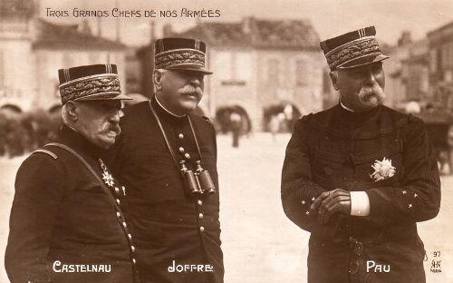 entree-guerre-1914-castelnau-joffre-pau