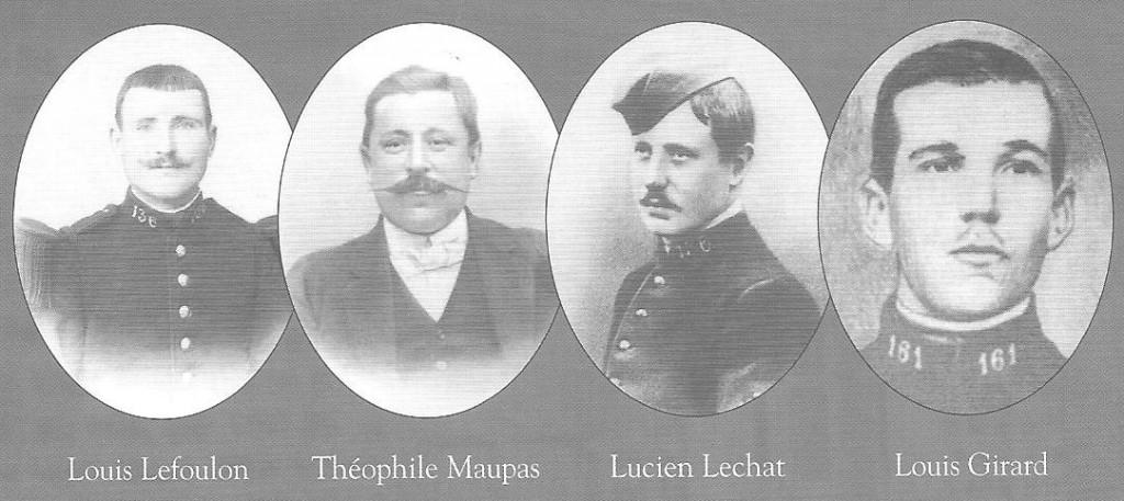 Les crimes des Conseils de guerre : Les quatre caporaux de Suippes texte de 1925  fussiles-de-suippes-conseil-de-crimes-de-guerre