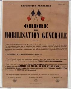 UNITÉS DE L'ARMÉE FRANÇAISE 1914 - 1918 mobilisation-14-237x300