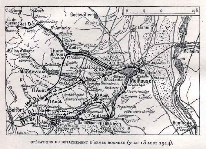 Les opérations en Alsace operation-detachement-bonneau