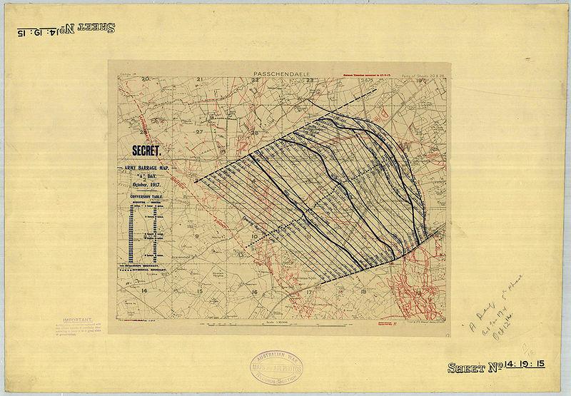 bataille-ypres-passchendaele-carte-originale