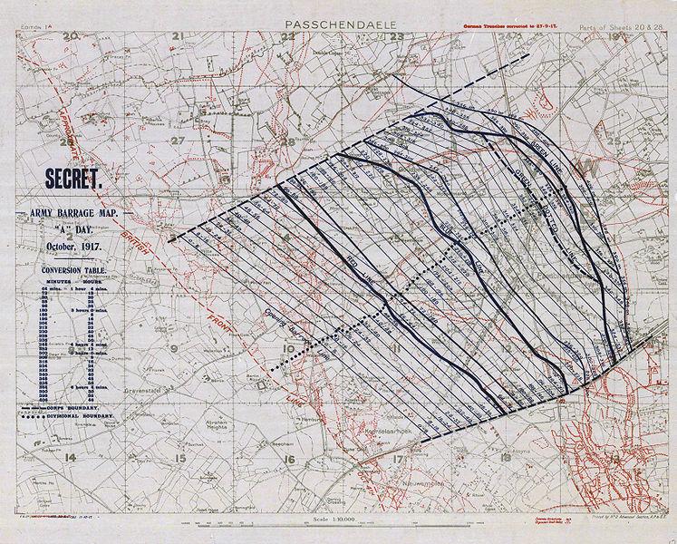 bataille-ypres-passchendaele-carte-secret