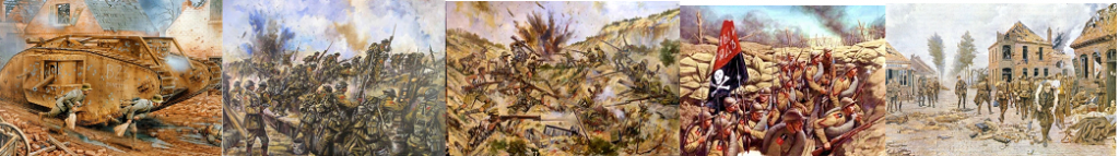 Toutes les offensives entreprises tableaux-scenes-de-guerre-18