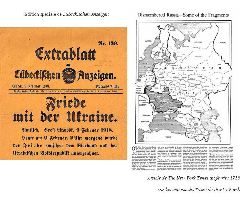 Traité de Brest-Litovsk traite-de-brest-litovsk-journaux