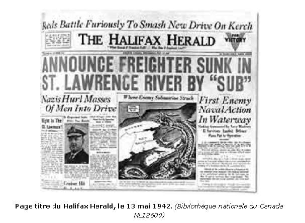 La bataille du golfe du Saint-Laurent saint-laurent